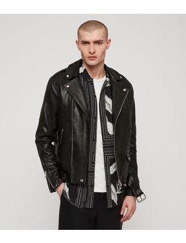 Manor Leather Biker Jacket by Allsaints
