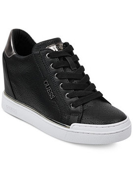 Women's Flowurs Wedge Sneakers by Guess