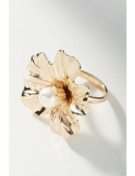 Falling Flora Ring by Anton Heunis