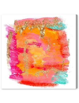 """Oliver Gal ''new Yorker In Spring"""" Canvas Art, 20"""" X 20"""" by The Oliver Gal Artist Co."""