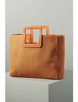 Nadia Woven Tote Bag by Anthropologie