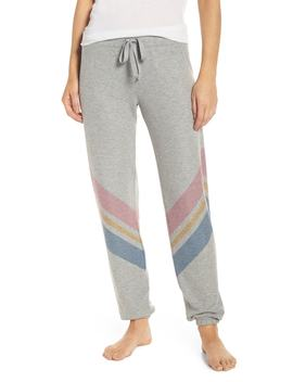 Lounge Essentials Chevron Sweatpants by Pj Salvage