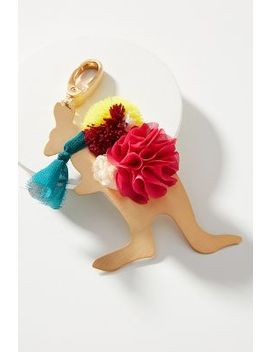 Well Dressed Animal Keychain by Anthropologie