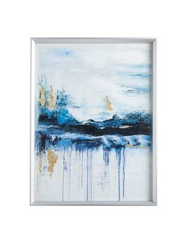 Nightfall Abstract Framed Under Glass Wall Art by Pier1 Imports