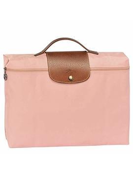 Longchamp Le Pliage Nylon Document Holder Bag, Light Pink by Longchamp