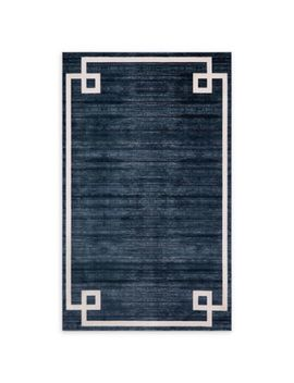 Jill Zarin Lenox Hill Uptown 8' X 10' Power Loomed Area Rug In Navy/Blue by Bed Bath And Beyond