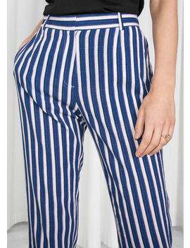 Striped Tailored Trousers by & Other Stories