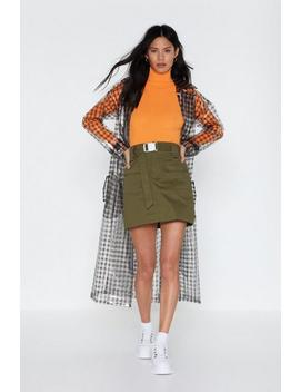 Thinking About Utility Mini Skirt by Nasty Gal