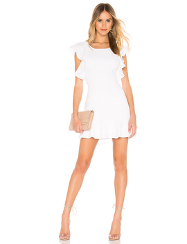 Ruffle Sleeve Mini Dress by Bcb Generation