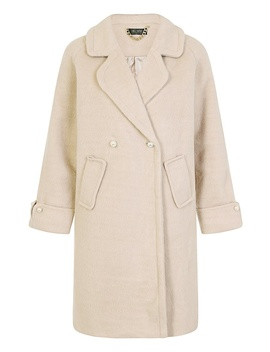 *Girls On Film Oatmeal Coat by Dorothy Perkins