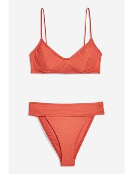 Rib Bikini Set by Topshop