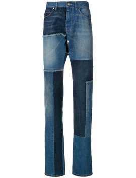 Patch Slim Fit Jeans by Lanvin