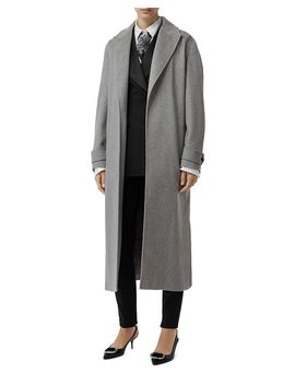 Cashmere Long Wrap Coat by Burberry