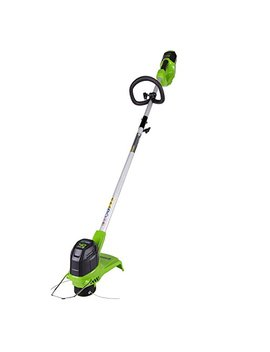 Greenworks 12 Inch 40 V Cordless String Trimmer, Battery Not Included Bst4000 by Greenworks