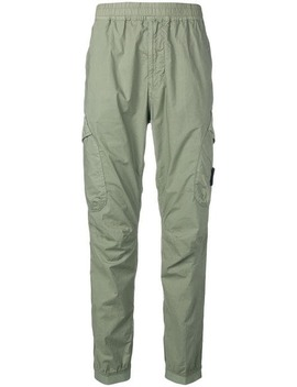 Slim Fit Cargo Trousers by Stone Island