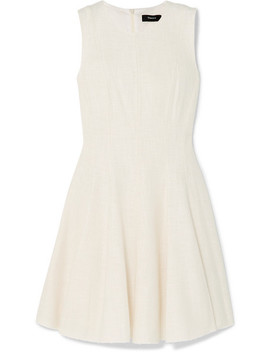 Paneled Tweed Dress by Theory