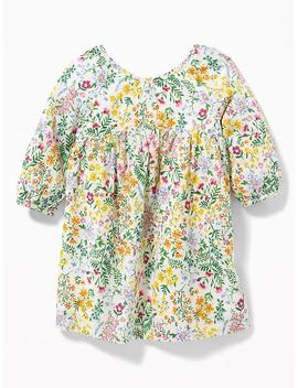 Ditsy Floral Fit & Flare Dress For Baby by Old Navy