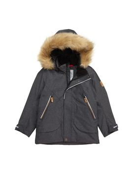 Outa Reimatec® Water Repellent Hooded Jacket With Faux Fur Trim by Reima