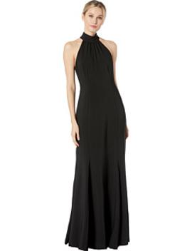 High Neck Sleeveless Gown by Alexia Admor