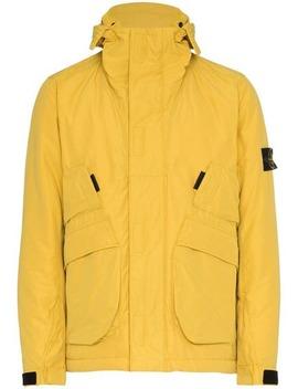 Waterproof Hooded Jacket by Stone Island