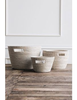 Connected Goods Nina Woven Storage Basket by Connected Goods