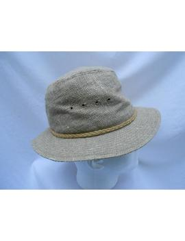 Vintage 1960's/70's Beige Hat By Quaker Marine Co. by Etsy
