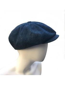 Denim Peaky Blinders Bakerboy Paperboy Newsboy Flat Cap Hat Retro Vintage Gatsby Linen Moleskin Bespoke Large Any Size Xl Custom Made by Etsy