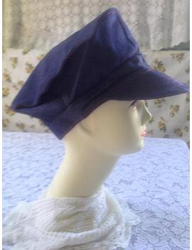 Denim Newsboy Cap by Etsy