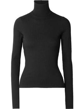 Alloy Ribbed Stretch Knit Turtleneck Sweater by The Range