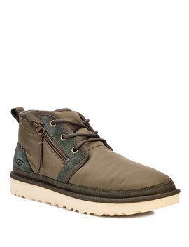 Ugg® Men's Neumel Bomber Nylon Zip Military Boot by Ugg
