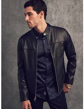 Beau Perforated Jacket by Guess