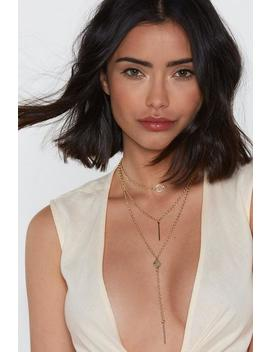 Drop In Dainty Chain Layered Necklace by Nasty Gal