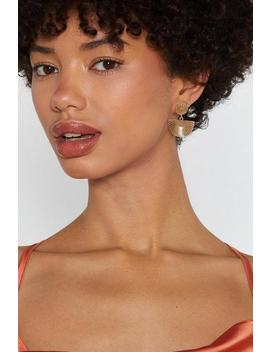 Fan Behavior Drop Earrings by Nasty Gal