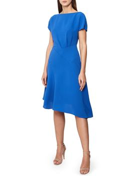 Victoria Asymmetrical Dress by Reiss