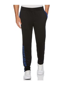 Big & Tall Logo Track Pants by Perry Ellis