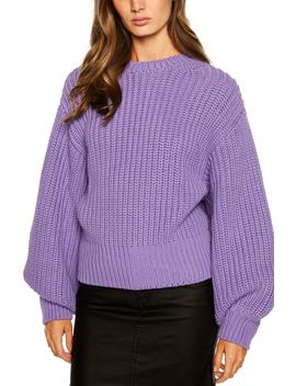 Balloon Sleeve Sweater by Bardot