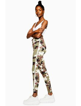 Camouflage Joggers by Topshop