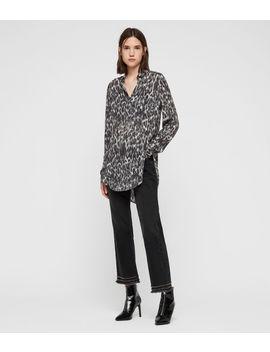 Keri Leopard Shirt by Allsaints