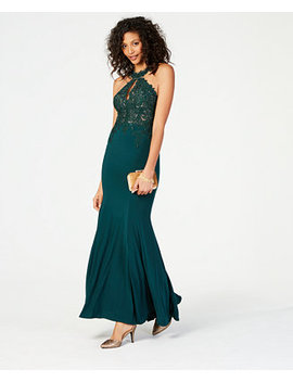 Petite Embellished Gown by Xscape