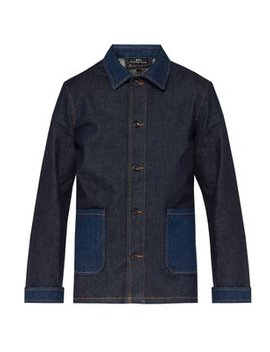 Mathis Point Collar Denim Jacket by A.P.C.