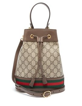Ophidia Gg Supreme Small Bucket Bag by Gucci