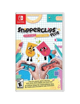 Snipperclips Plus   Cut It Out, Together!   Nintendo Switch by Nintendo
