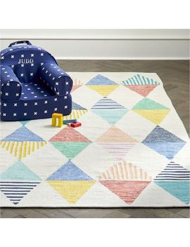 Colorful Triangle 5 X 8' Rug by Crate&Barrel