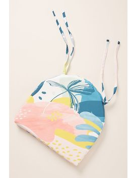 Gracie Reversible Indoor/Outdoor Seat Cushion by Anthropologie