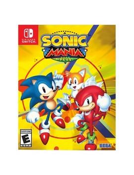 Sonic Mania Plus   Nintendo Switch by Nintendo