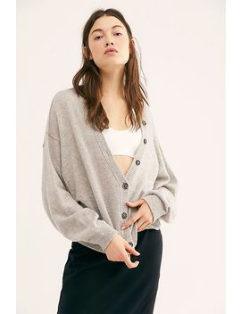 Better Days Cashmere Cardi by Free People