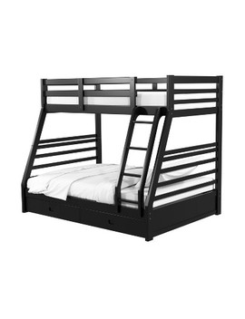 Sam Kids Bunk Bed Twin/Full   Homes: Inside + Out by Homes: Inside + Out