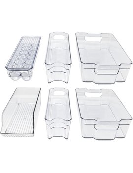Benefield Refrigerator And Freezer Organizer Bins by Rebrilliant