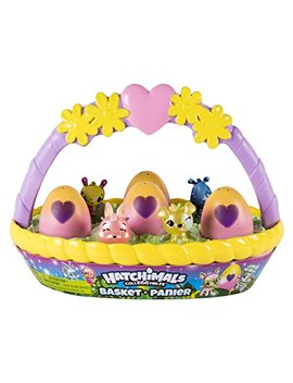 Hatchimals Coll Eg Gtibles Basket With 6 Hatchimals Coll Eg Gtibles, Ages 5 & Up by Hatchimals