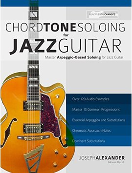 Chord Tone Soloing For Jazz Guitar: Master Arpeggio Based Soloing For Jazz Guitar (English Edition) by Joseph Alexander